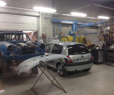 Réparation de carrosserie à Beauvais