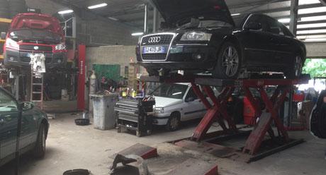 Garage automobile à Beauvais