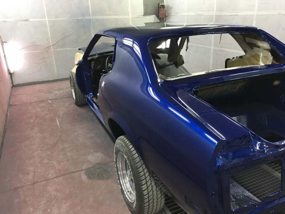 Rénovation Mustang